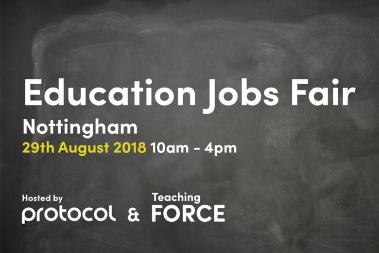 Education recruitment fair Nottinghamshire