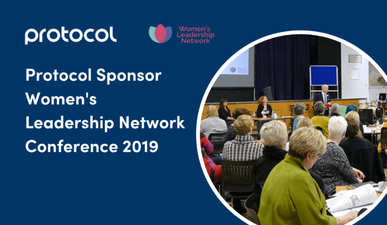 Graphic highlight Protocol's sponsorship of WLN Conference 2019